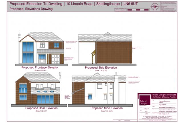 Thumbnail Detached house for sale in Lincoln Road, Lincoln