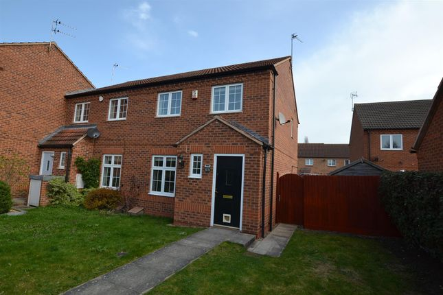 Thumbnail 3 bed semi-detached house to rent in Old Tannery Drive, Sileby, Leicestershire