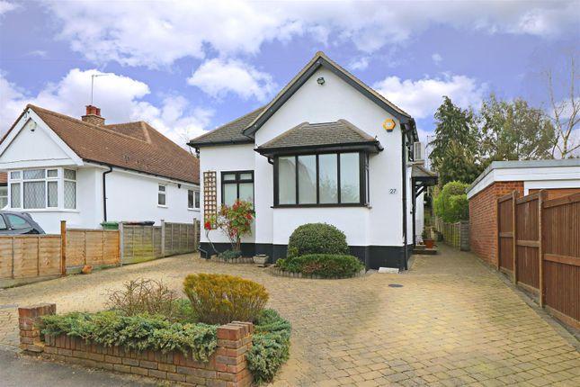 Thumbnail Detached bungalow for sale in The Close, Radlett