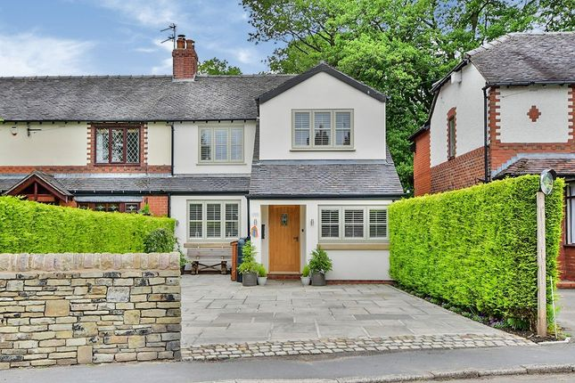 3 bed semi-detached house for sale in Church Lane, Sutton, Macclesfield, Cheshire SK11