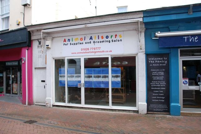 Commercial property for sale in Bank Street, Teignmouth, Devon