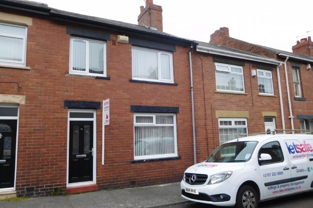 Thumbnail Terraced house to rent in Elsdon Terrace, North Shields