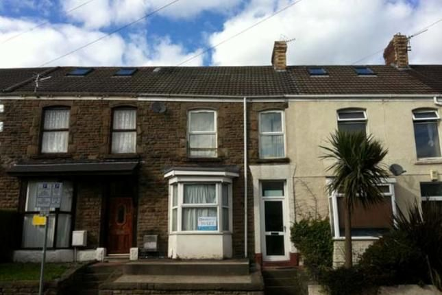 Thumbnail Terraced house to rent in Rhondda Street, Swansea