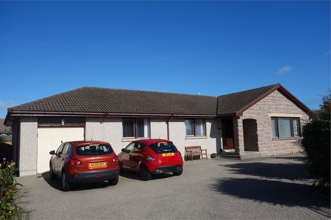 Thumbnail Detached bungalow for sale in Halliman Way, Lossiemouth, Moray