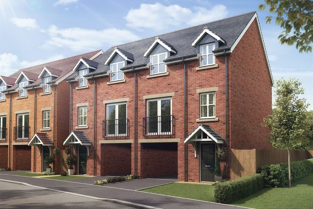 "Thumbnail Semi-detached house for sale in ""The Oakland"" at Raddlebarn Road, Selly Oak, Birmingham"