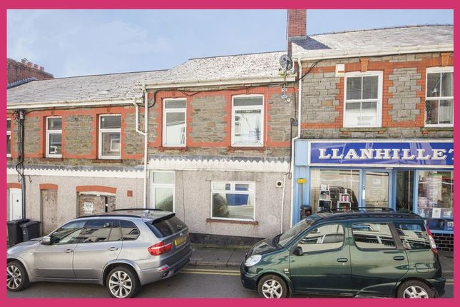 Thumbnail Terraced house for sale in Commercial Road, Llanhilleth, Abertillery