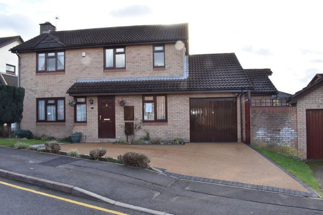 Thumbnail Detached house for sale in Fabian Drive, Stoke Gifford, Bristol