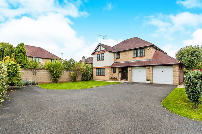 Thumbnail Detached house for sale in Purbeck Close, Wisbech