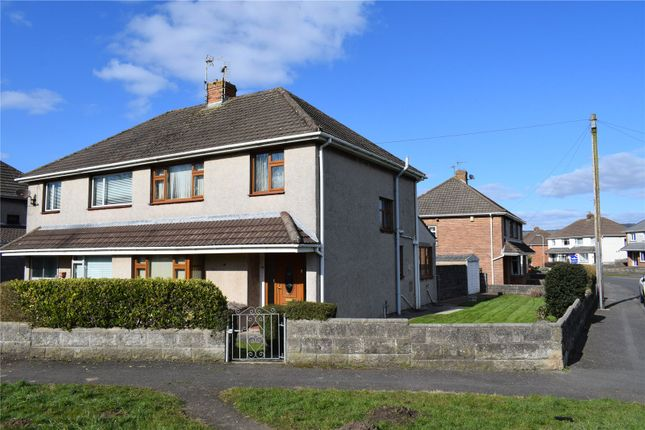 Thumbnail Semi-detached house for sale in Heol Las, North Cornelly, Bridgend