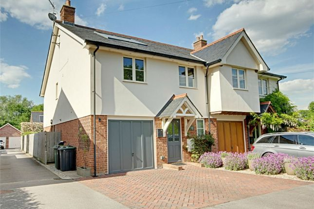 Semi-detached house for sale in Chelmsford Road, Hatfield Heath, Bishop's Stortford, Herts