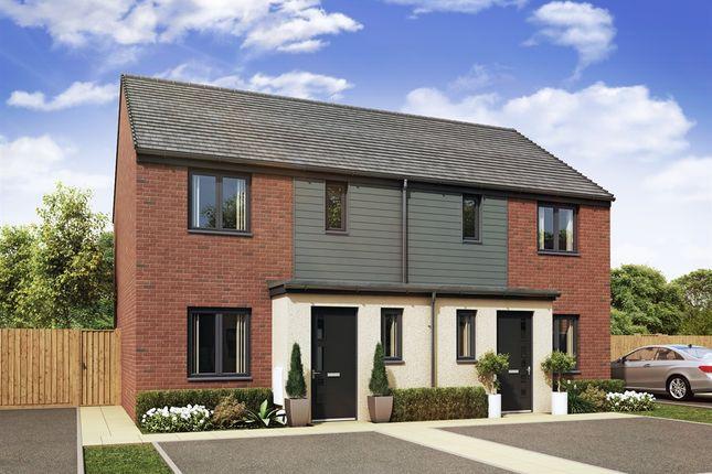 "Thumbnail Semi-detached house for sale in ""Hanbury "" at Hendon Court, Buckshaw Village, Chorley"