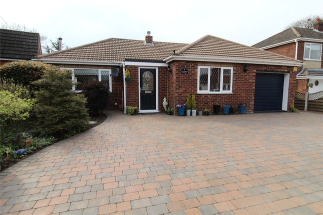 Thumbnail Bungalow for sale in Westfield Drive, Messingham, North Lincolnshire