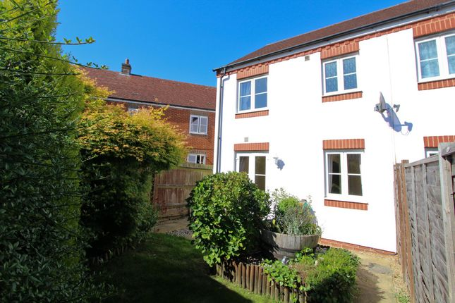 Thumbnail End terrace house to rent in Barentin Way, Petersfield
