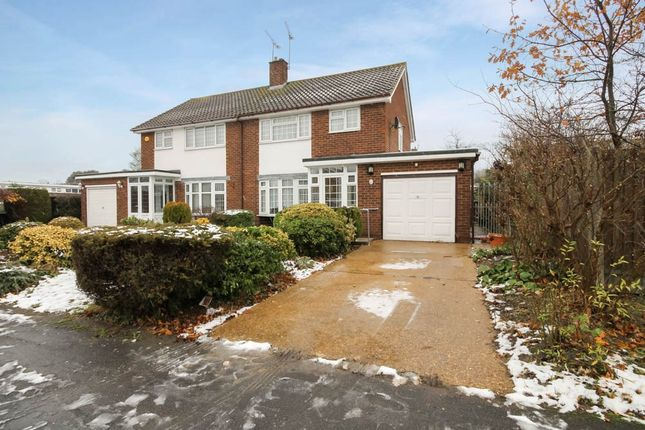 Thumbnail Semi-detached house for sale in Swallow Dale, Kingswood, Basildon