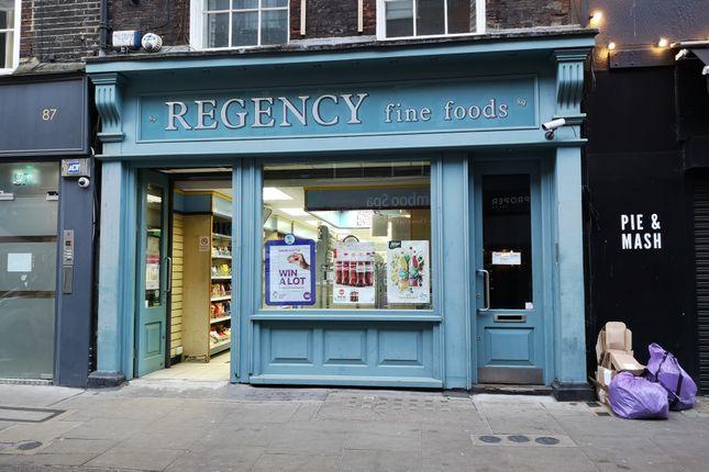 Thumbnail Retail premises to let in Leather Lane, London