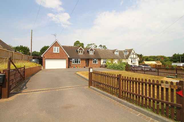Thumbnail Semi-detached house for sale in Claverhambury Road, Waltham Abbey