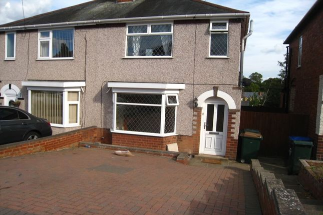 Thumbnail Semi-detached house to rent in Burnham Road, Whitley, Coventry