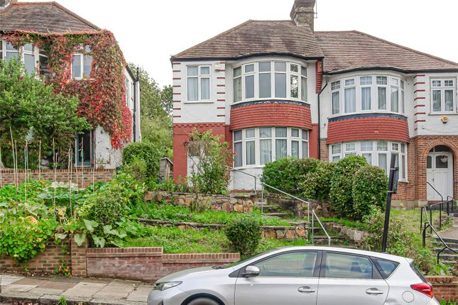 Thumbnail Semi-detached house for sale in Wroxham Gardens, London