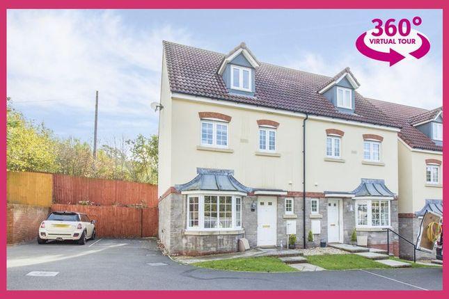 Thumbnail Semi-detached house for sale in Tirfilkins Close, Pontllanfraith, Blackwood