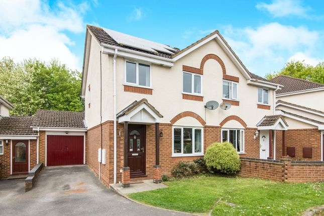 Thumbnail Semi-detached house for sale in Armada Close, Rownhams, Southampton