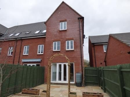 Thumbnail Town house to rent in Ruardean Drive, Tuffley, Gloucester