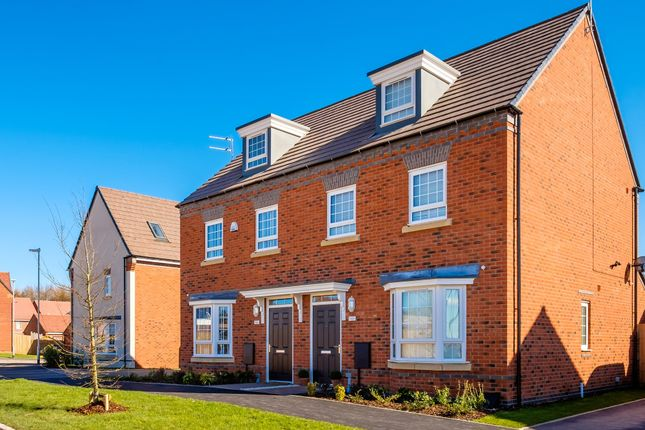 """Thumbnail Semi-detached house for sale in """"Kennett"""" at Old Derby Road, Ashbourne"""