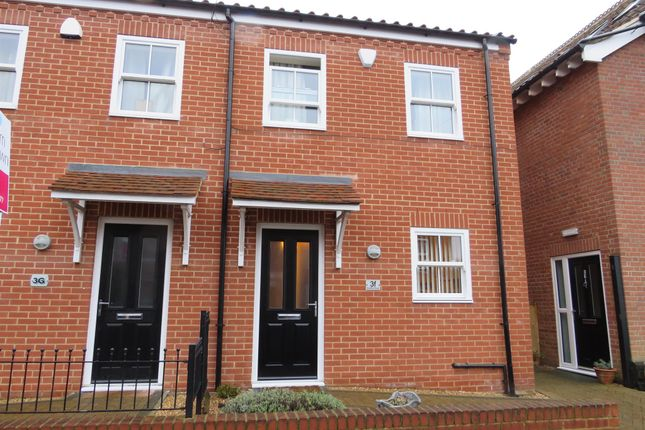 Thumbnail End terrace house for sale in Branford Road, Norwich