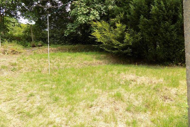 Rear Garden of Heol Orchwy, Treorchy, Rhondda Cynon Taff. CF42