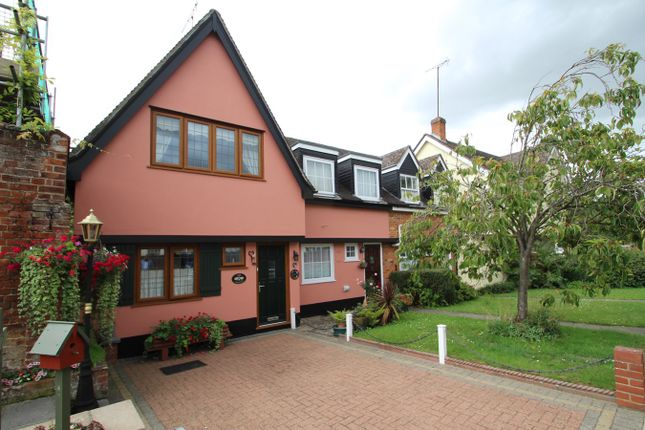 Thumbnail End terrace house for sale in Meadows Way, Hadleigh, Ipswich