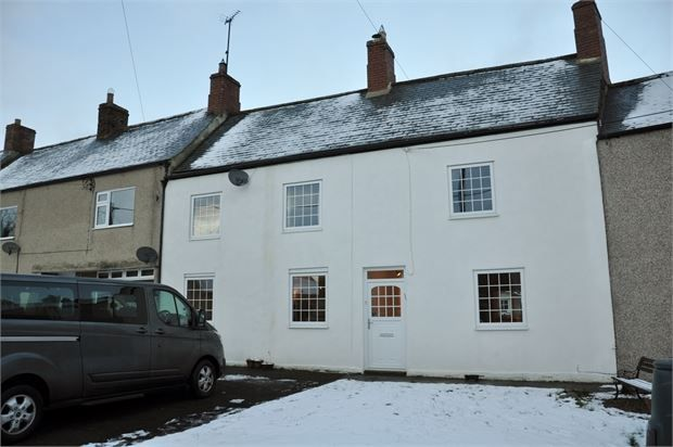 Thumbnail Terraced house for sale in The Old Post Office, Otterburn, Newcastle Upon Tyne.