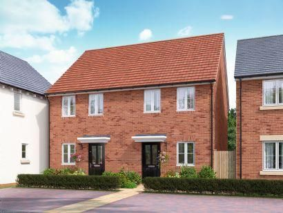 Thumbnail Semi-detached house for sale in St Andrews At Kingsfield, Bromham Road, Biddenham