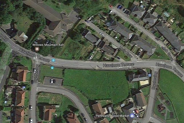 Thumbnail Land for sale in Hawthorn Terrace, Perthcelyn, Mountain Ash