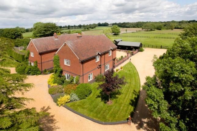 6 bed equestrian property for sale in Moss Mere, Smallwood, Sandbach, Cheshire