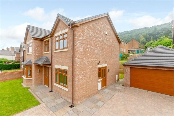 Thumbnail Detached house for sale in Chester Road, Helsby, Frodsham, Cheshire