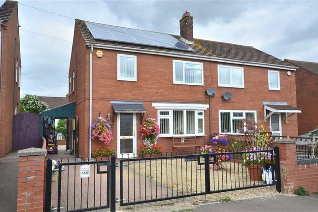 Thumbnail Semi-detached house for sale in Larkhay Road, Hucclecote, Gloucester