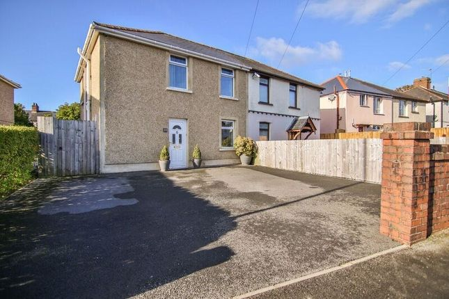 Thumbnail Semi-detached house for sale in Emlyn Avenue, Ebbw Vale
