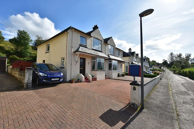 Thumbnail Semi-detached house for sale in Seafield Gardens, Fort William