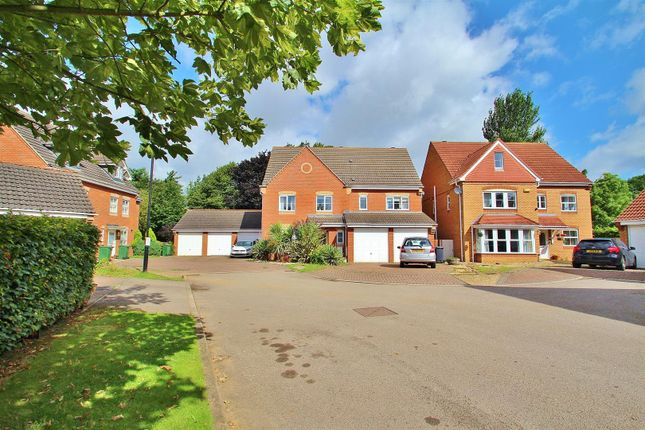 Thumbnail Detached house for sale in Wetherby Close, Queniborough, Leicester, Leicestershire