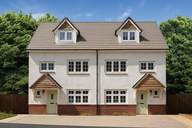 "Thumbnail Semi-detached house for sale in ""Grantham Semi"" at Boundary Drive, Amington, Tamworth"