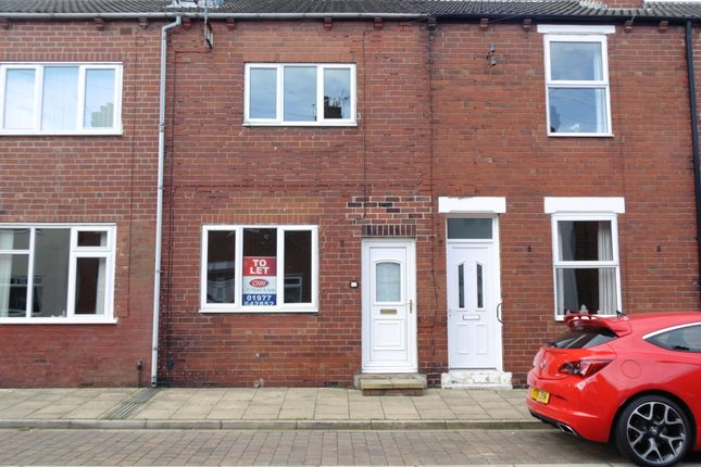 Thumbnail Terraced house to rent in Eric Street, South Elmsall