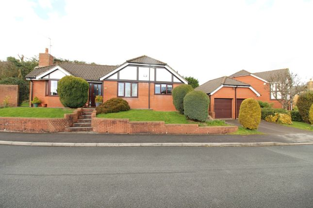 Thumbnail Bungalow for sale in Tregarn Close, Langstone, Newport