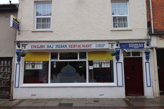 Thumbnail Restaurant/cafe for sale in Clare Street, Bridgwater