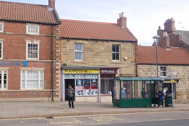 Thumbnail Commercial property for sale in 2, 2A, 2B, Market Place, Bedlington