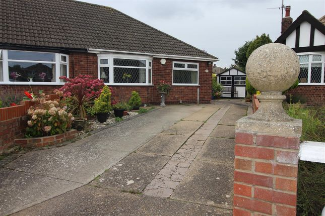 Thumbnail Semi-detached bungalow for sale in Cridling Place, Cleethorpes