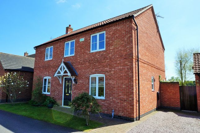Thumbnail Detached house for sale in Long Meadow, Sudbrook, Grantham