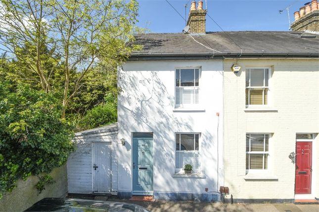 Thumbnail End terrace house for sale in New Road, Weybridge, Surrey