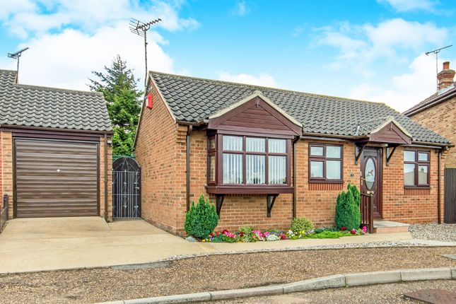 Thumbnail Detached bungalow for sale in Pedlars Croft, Hemsby, Great Yarmouth