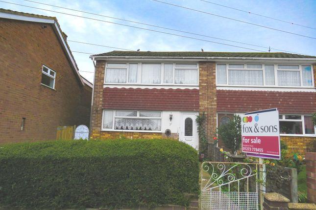 Thumbnail Semi-detached house for sale in Rowan Close, Portslade, Brighton