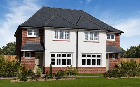Thumbnail Semi-detached house for sale in Parc Plymouth At Plasdŵr, Heol Rufus, Cardiff