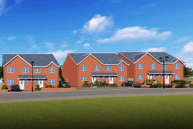 Thumbnail Semi-detached house for sale in Saracen Way, Meir, Stoke-On-Trent